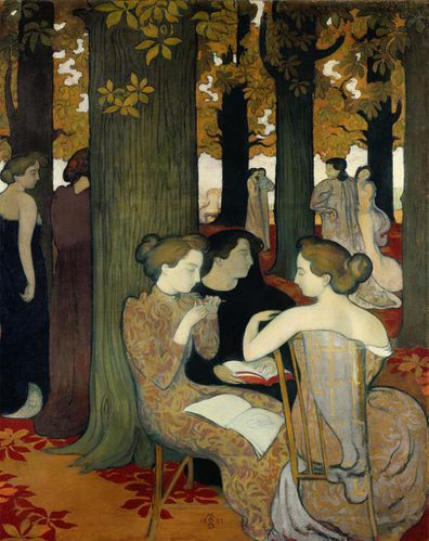 Maurice denis les muses