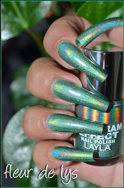 Layla Hologram Effect New swatches