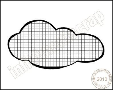 nuage quadrillé