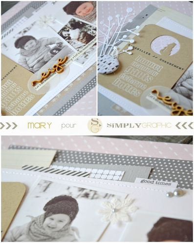 Mary pour Simply Graphic page hiver 3