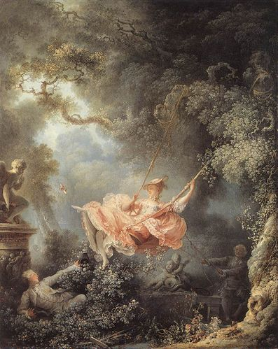 Fragonard les hasards heureux de l'escarpolette The Swing