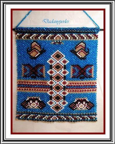 tapisserie amérindienne