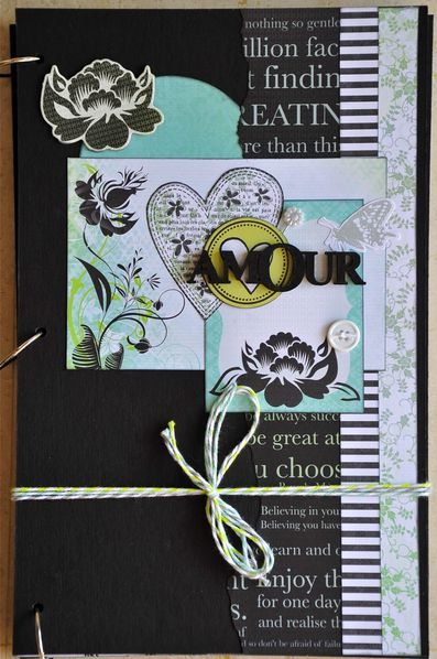 Scrapbooking album photo amour - Idee scrapbooking amour ...