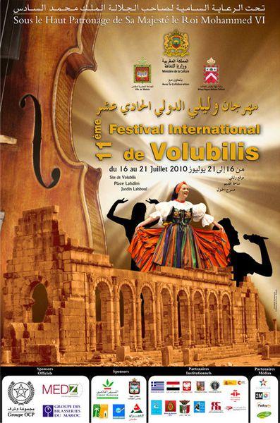 Meknès : Festival international de Volubilis 2010
