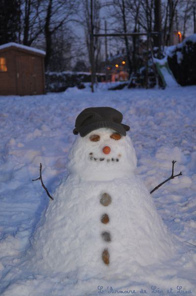 bonhomme de neige