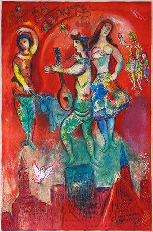 Chagall Carmen