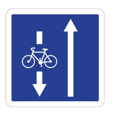double sens cyclable cle731321