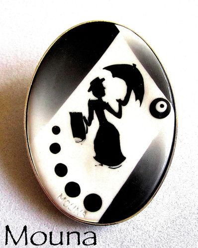 Broche Mary Poppins 1 DISPONIBLE: 17 euros.