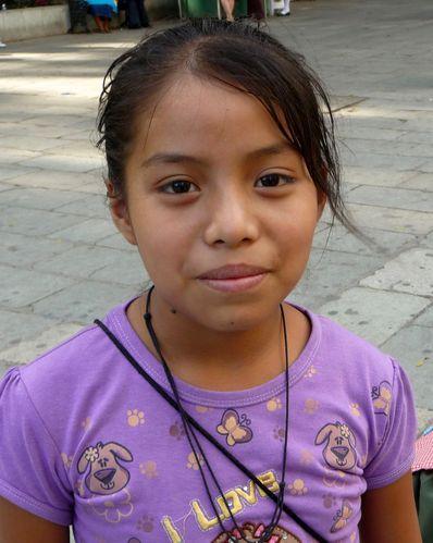 Oaxaca petite vendeuse