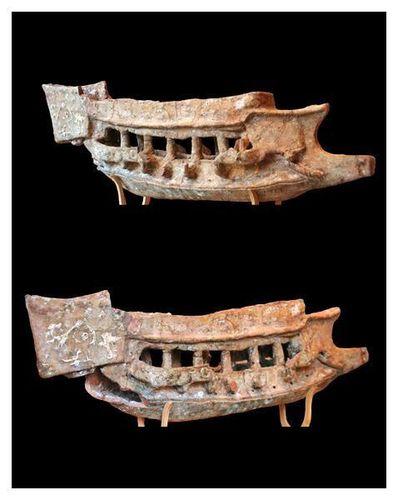 715h2 musée de Sparte, galère cuirassée romaine, autour
