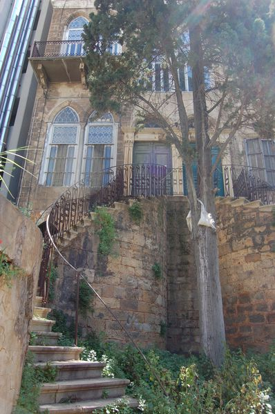 beyrouth escalier