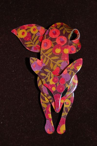 renard-lea-stein-liberty-Wiltshire-brown-red-broche-bijou