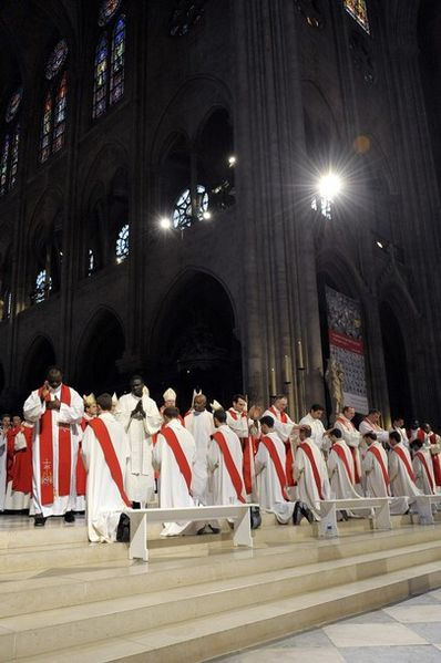 ceremony in Notre-Dame 2
