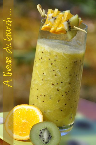 jus de fruit frais banane kiwi orange le blog de recettes faciles la cuisine de nathalie. Black Bedroom Furniture Sets. Home Design Ideas