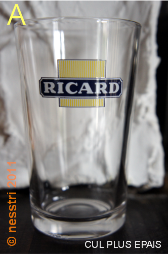 ricard verre long drink conique a ricard le blog. Black Bedroom Furniture Sets. Home Design Ideas