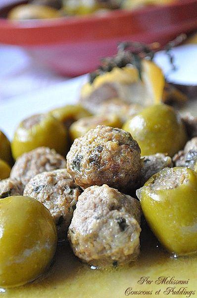 tajine zitoune olives a la viande