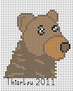 ours brun perforé