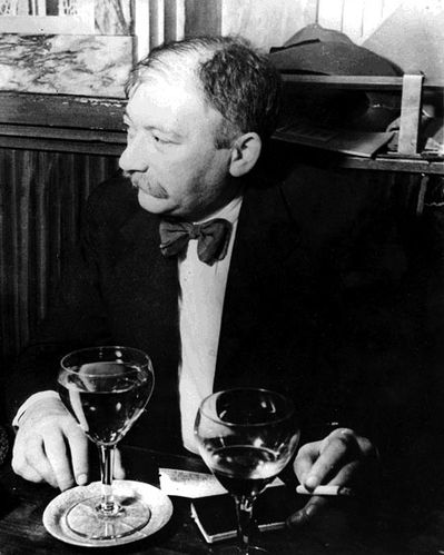 Joseph Roth au Tournon en 1938