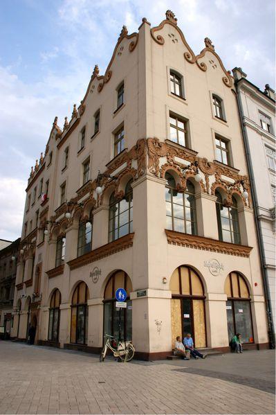 Cracovie place Rynek Główny pologne (60) (2)