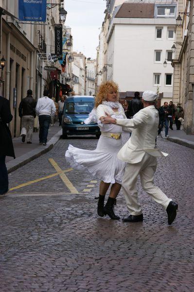 danse rue mouffetard