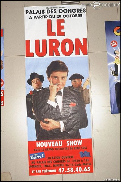 spectacle thierry le luron
