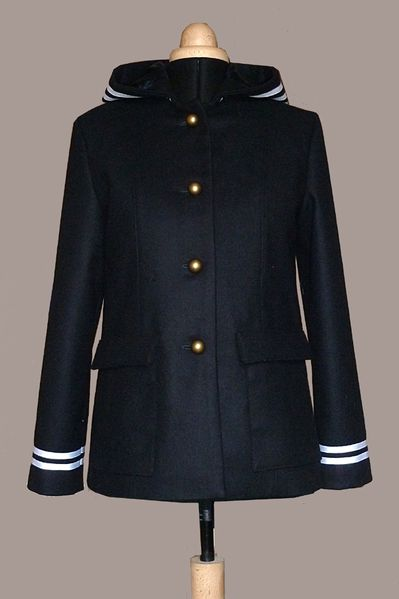 manteau court marin 1