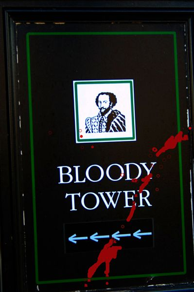 HJ7 Bloody Tower, London