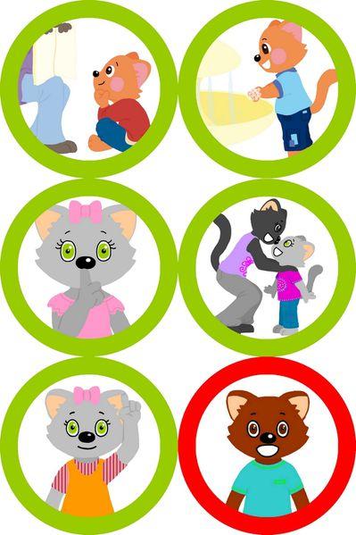 Turbo Travail école : Mino et Mina et les règles de vie. - Le blog de fanfan GV02