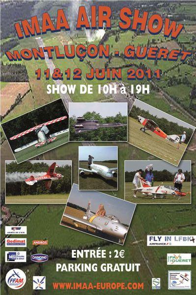 affiche IMAA 11 et 12 06 2011
