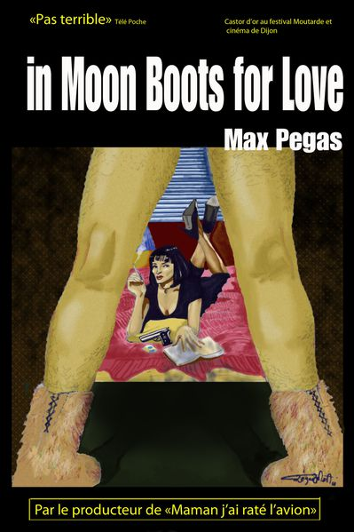 in moon boots for love