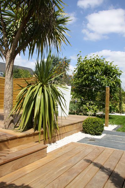 am nagement de jardin terrasse bois terrasse pierres spa vannes auray arradon s n. Black Bedroom Furniture Sets. Home Design Ideas