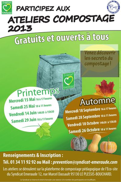 AFFICHE Atelier compostage 2013 page 001