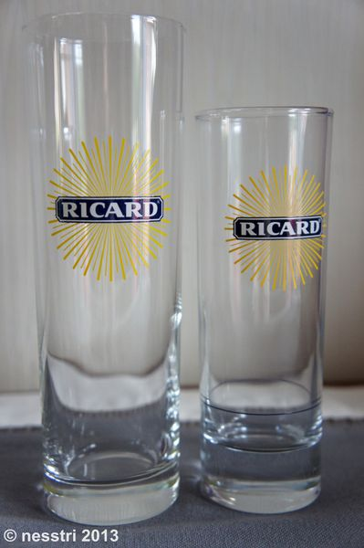 ricard verres tube solaris les 2 ricard le blog de nesstri. Black Bedroom Furniture Sets. Home Design Ideas