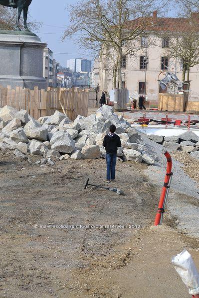 Place Napoléon chantier interdit au public (7)