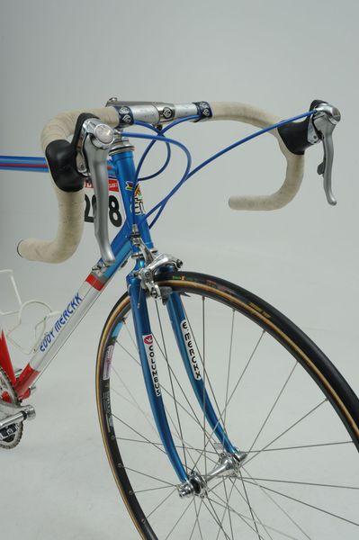 A avant du vélo