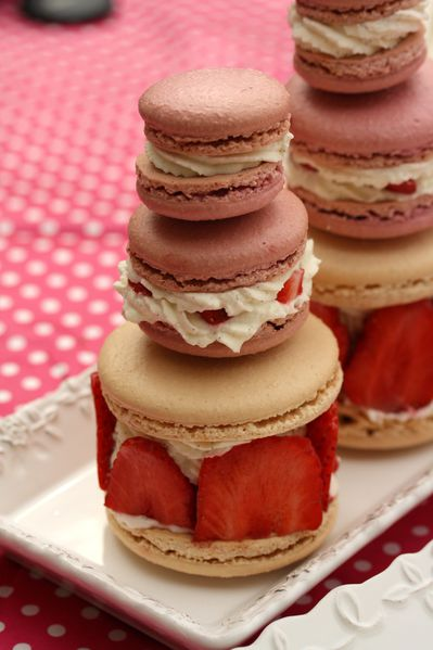 macarons ...comme une religieuse (14)
