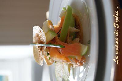 millefeuilles saumon 1