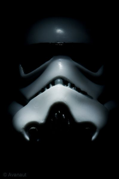 Stormtrooper Closeup Portrait