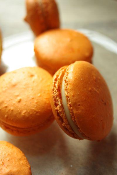 Macarons à l'orange.