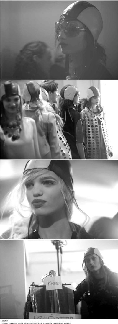 Fashion Ballyhoo - Fashion Week SS2011 backstage 5