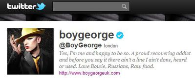 Boy George: ''Come back Madonna all is forgiven!''