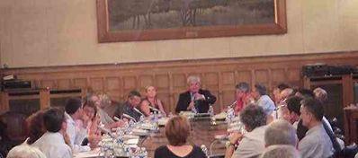réunion du Conseil municipal du Raincy