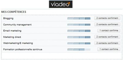 competences viadeo reseaux sociaux professionnels