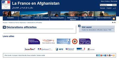 Ambassade France Afghanistan