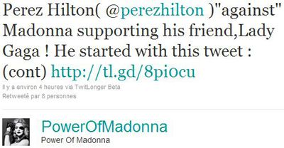 Perez Hilton: ''M is my ultimate!''