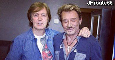 Johnny-Hallyday-Paul-McCartney Photo de JHroute66