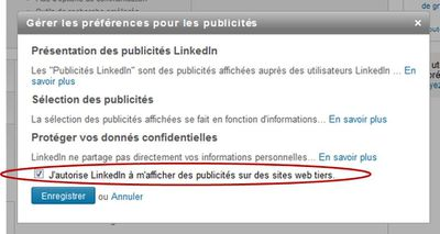Linkedin confidentialites reseaux sociaux professionnels
