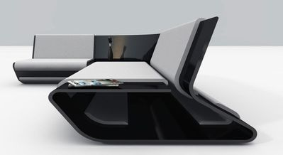 sofa slim-y design