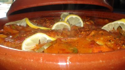Tajine de queue de lotte mes saveurs d 39 orient for Cuisine queue de lotte