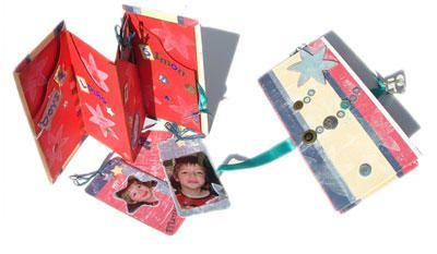 atelier de scrapbooking - book of tag